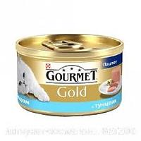 Gourmet Gold - паштет с тунцом для кошек, 85г