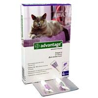 АДВАНТЕЙДЖ 80 капли - д/кошек  свыше 4 кг.