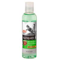 Nutri-Vet Breath Fresh НУТРИ-ВЕТ СВЕЖЕЕ ДЫХАНИЕ жидкость для кошек от зубного налета и запаха из пасти, концентрат, 118 мл