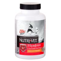 Nutri-Vet Hip&Joint Regular НУТРИ-ВЕТ СВЯЗКИ И СУСТАВЫ РЕГУЛЯР, 1 уровень, хондроитин и глюкозамин для собак, с МСМ, таблетки , 75