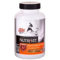 Nutri-Vet Shed Defense НУТРИ-ВЕТ ШЕД ДЕФЕНС ЗАЩИТА ШЕРСТИ витаминный комплекс для шерсти собак, с Омега3, 60 табл.