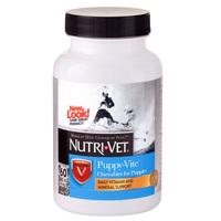 Nutri-Vet Puppy-Vite НУТРИ-ВЕТ ПАППИ-ВИТ комплекс витаминов и минералов для щенков до 9 месяцев, 60 табл
