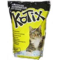 Kotix cиликагелевый наполнитель для кошачьего туалета