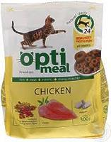 OptiMeal Chicken - корм ОптиМил с курицей для взрослых кошек