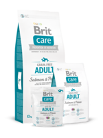 Сухий корм для собак Brit Care Grain-free Adult Salmon & Potato