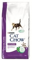 Cat Chow Для кошек для выведения шерсти из желудка