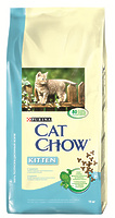 Cat Chow Для котят с курицей