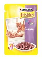 Friskies Кусочки в подливе для котят с ягненком