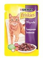 Friskies Кусочки в подливе для кошек с говядиной и ягненком