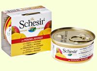 SCHESIR тунец и манго в желе 75г