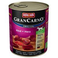 Animonda Gran Carno Original Adult Консерва с говядиной и сердцем