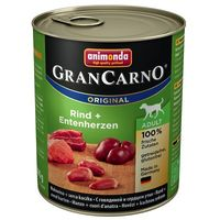 Animonda Gran Carno Original Adult Консерва с говядиной и кроликом