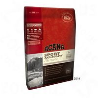 ACANA Sport & Agility корм для активных взрослых собак, 2х17,0 кг