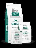 Сухий корм для собак Brit Care Senior Lamb & Rice