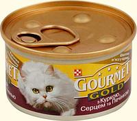 Gourmet Gold консерва для кошек в ассортименте 85г*24шт