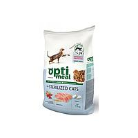 Сухой корм Optimeal для взрослых кошек со вкусом телятины 10 кг