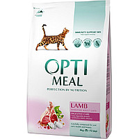 Сухой корм Optimeal для взрослых кошек со вкусом курицы 10 кг