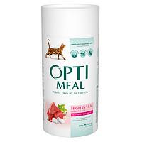 Сухой корм для стерилизованных кошек Optimeal Индейка 10 кг