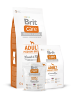 Сухий корм для собак Brit Care Adult Medium Breed Lamb & Rice