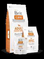 Сухий корм для собак Brit Care Adult Medium Breed Lamb & Rice