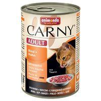 Animonda Carny Adult Консервы для кошек с говядиной и курицей