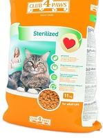 Клуб 4 лапы сухой корм для кастрированных котов и стерилизованных кошек