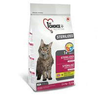 Сухой корм для котов 1st Choice Sterilized