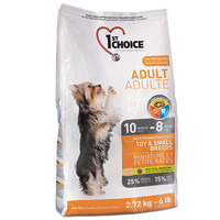 Сухой корм для собак 1st Choice Toy & Small Breeds Adult