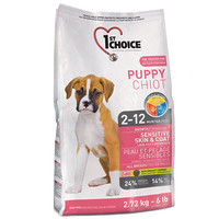 Сухой корм для собак 1st Choice Sensitive Skin & Coat All Breeds Puppy
