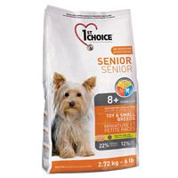 Сухой корм для собак 1st Choice Senior Toy & Small Breeds
