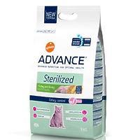 Advance (Эдванс) Cat Sterilized корм для стерилизованных кошек c индейкой и ячменем