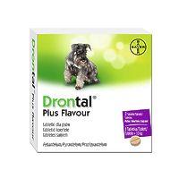 Bayer Drontal plus - антигельминтик со вкусом мяса