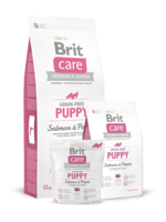 Сухий корм для собак Brit Care Grain-free Puppy Salmon & Potato