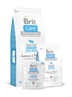 Сухий корм для собак Brit Care Junior Large Breed Lamb & Rice