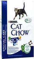 Cat Chow Для кошек 3 в 1: профилактика МКБ, зубного камня, вывод шерсти