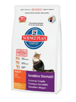 Science Plan™ Feline Adult Sensitive Stomach Курица с яйцом и рисом