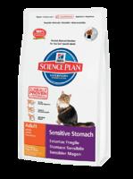 Science Plan™ Feline Adult Sensitive Stomach Курица с яйцом и рисом
