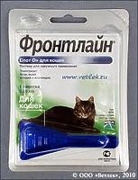 Фронтлайн СПОТ ОН монопипетка д/котов