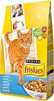Friskies - корм Фрискас для взрослых кошек с семгой