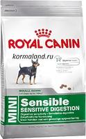 Royal Canin MINI SENSIBLE - корм для собак малых пород