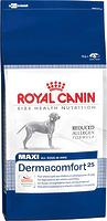 Royal Canin MAXI DERMACOMFORT - корм для собак крупных пород с чувствительной кожей