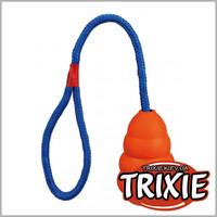 TRIXIE TX-3306 Резиновая груша на веревке для собак TRIXIE