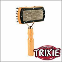 TRIXIE TX-2305 Щетка-пуходерка двусторонняя, дерево