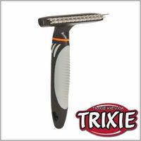 TRIXIE TX-23783 Расческа-грабли с переменным зубом TRIXIE