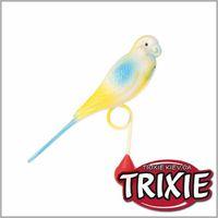 TRIXIE TX-5311 Пластиковый попугай для жёрдочки TRIXIE 12.5см
