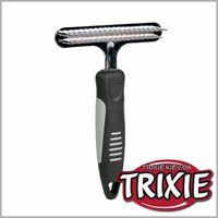 TRIXIE TX-2406 Скребница двухрядная с частым зубом TRIXIE