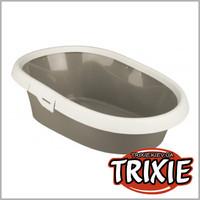 TRIXIE TX-40321 Туалет для котов TRIXIE - Paulo 31х14х43см, серый/крем