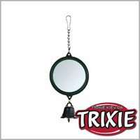 TRIXIE TX-5215 Зеркало с колокольчиком для птиц TRIXIE 5.5см