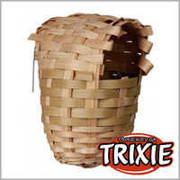 TRIXIE TX-5600 Бамбуковое гнездо для птиц TRIXIE 10х9см