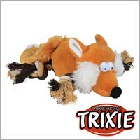 TRIXIE TX-35919 Игрушка для собак TRIXIE - Лиса с лапами-канатами